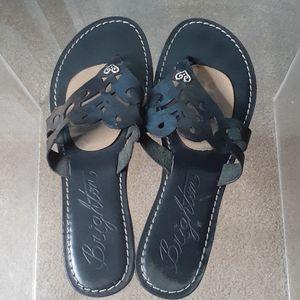 Brighton Alegre black sandals
